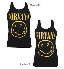 Unisex Black Nirvana Smiley Vest from Fanpac [View details]
