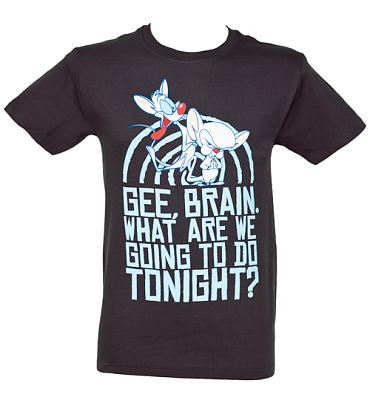 Take Over Men's Pinky And The Brain T-Shirt