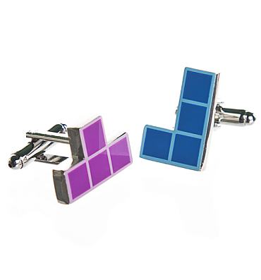 Tetris Boxed Cufflinks