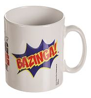 The Big Bang Theory Bazinga Burst Mug