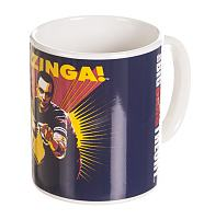 The Big Bang Theory Bazinga Purple Mug