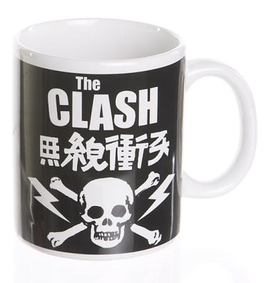 The Clash Skull Boxed Mug