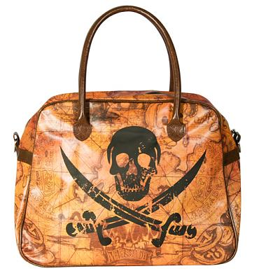 The Goonies Map and Logo Overnight Bag