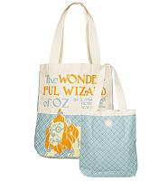 The Wizard Of Oz Vintage Cover Print Canvas Tote Bag from Out Of Print