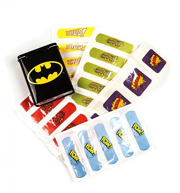 Tinned Batman Plasters