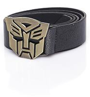 Transformers Gold Head Buckle PU Belt