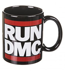 Boxed Classic Black Run DMC Logo Mug [View details]