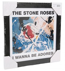 "Framed Stone Roses Wanna Be Adored 12"" Album Cover Print [View details]"
