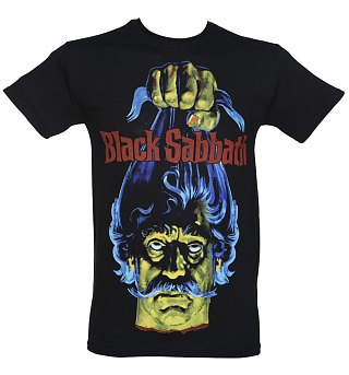 Mens Black Sabbath Head TShirt