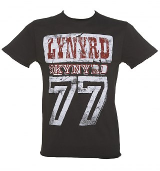 Charcoal Lynyrd Skynyrd 77 TShirt from Amplified
