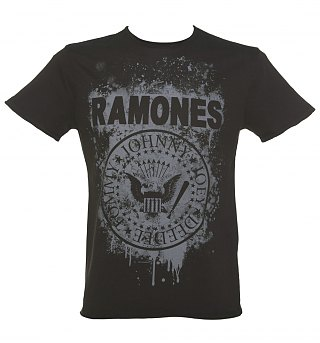 Ramones Graffiti Logo TShirt from Amplified
