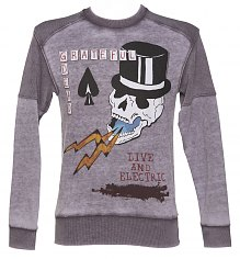 Men's Purple Marl Grateful Dead Sweater from Amplified [View details]