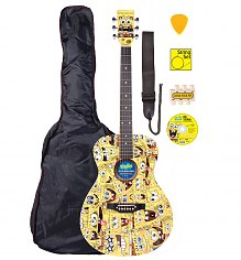 SpongeBob Squarepants Full Size Acoustic Guitar Set [View details]