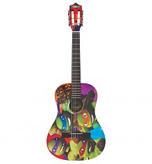 Teenage Mutant Ninja Turtles 3/4 Size Acoustic Guitar Set [View details]