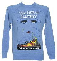 Unisex Blue F. Scott Fitzgerald The Great Gatsby Novel Sweatshirt from Out Of Print