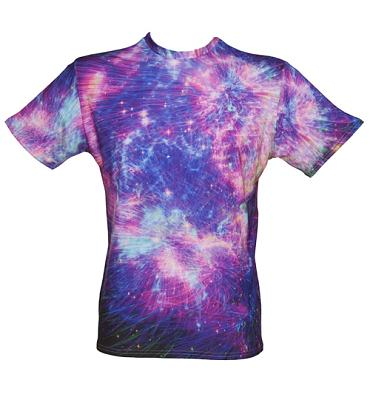 Unisex Fireworks All Over Print T-Shirt from Mr Gugu & Miss Go