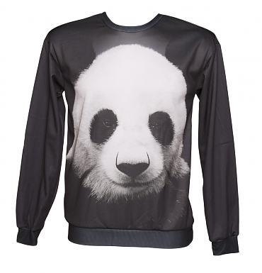 Unisex Panda Print Jumper from Mr Gugu &Miss Go
