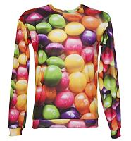Unisex Rainbow Sweets Jumper from Mr Gugu & Miss Go