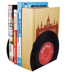 Vintage Style Vinyl Book Ends [View details]