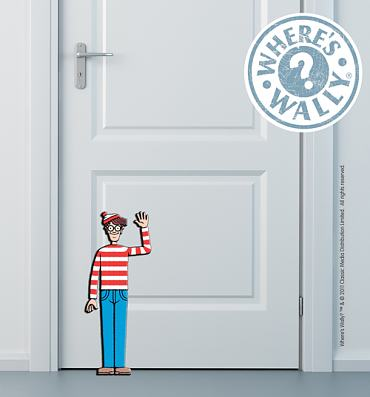Where's Wally Doorstop