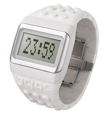 White Pop Hours JC/DC Retro Watch from ODM