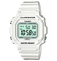 White Retro Illuminator Watch from Casio