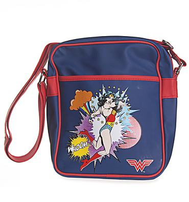 Wonder Woman Retro Flight Bag
